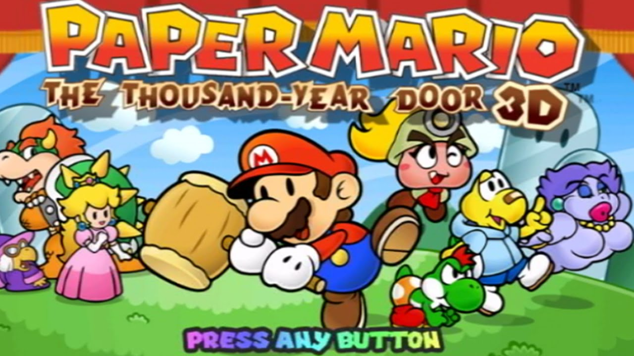 Paper Mario: The Thousand-Year Door 3D leak confirmed fake by