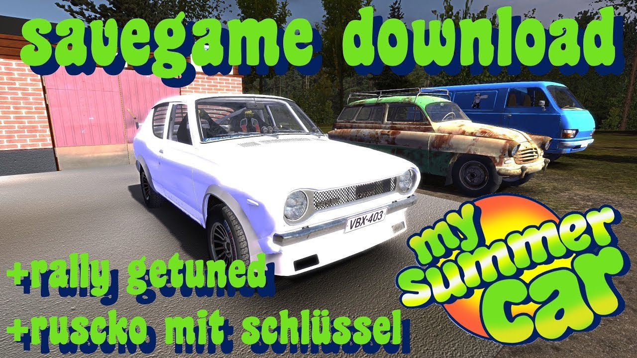 Savegame Download Msc My Summer Car Youtube