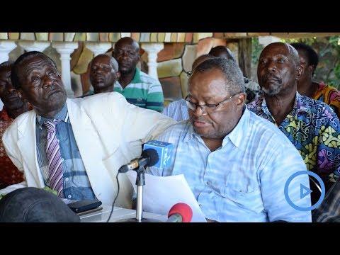 Consult us on secession, Mijikenda elders tell Joho and Kingi