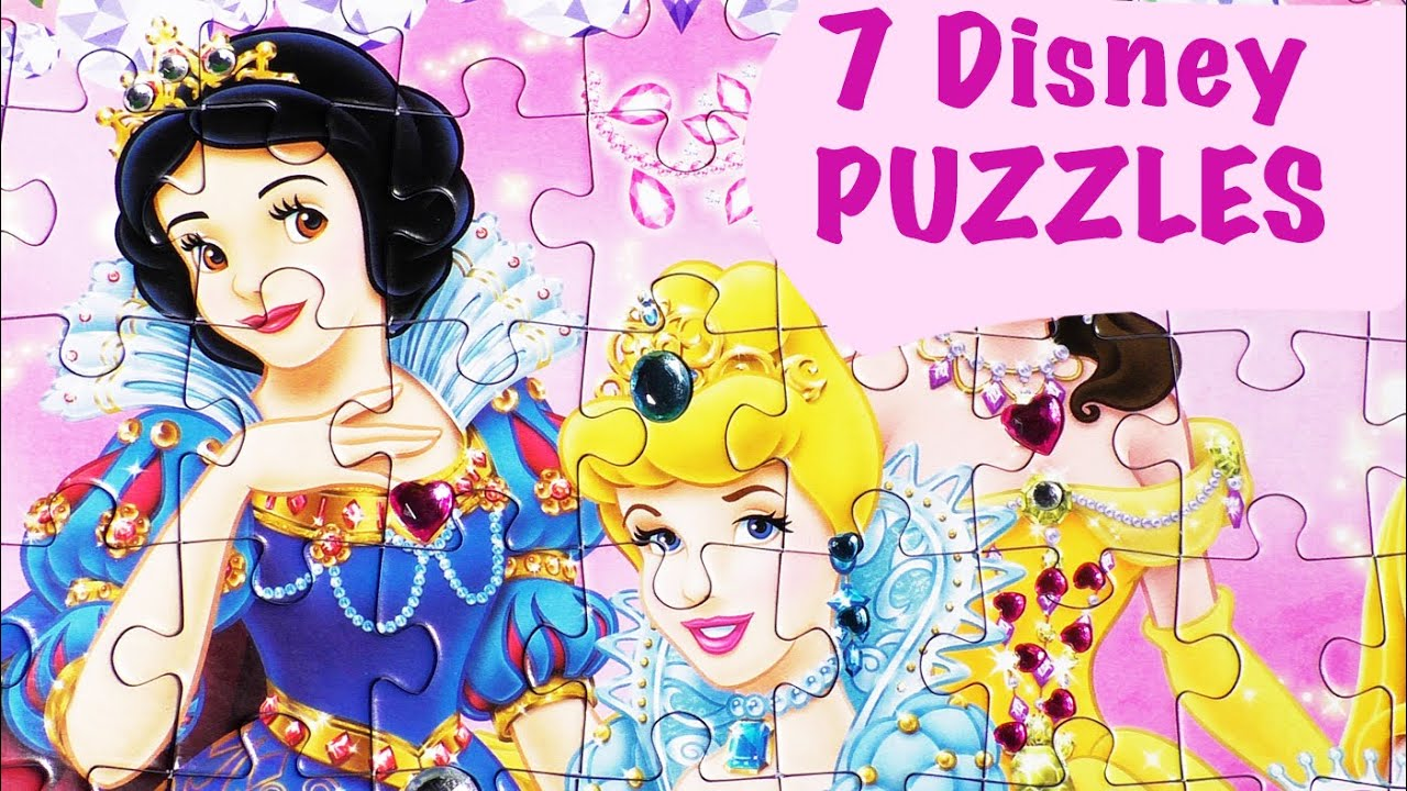 Disney Princess Fairies Puzzle Games Ravensburger