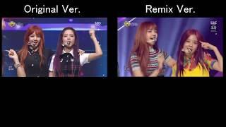 Blackpink - '마지막처럼  As If It's Your Last ' Original Ver.  Remix Ver. Comparison