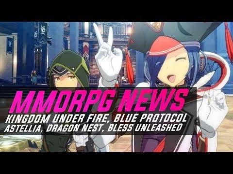 MMORPG News: YES! Blue Protocol Beta, Astellia Beta, TERA2: Classic, Kingdom Under Fire, Bless