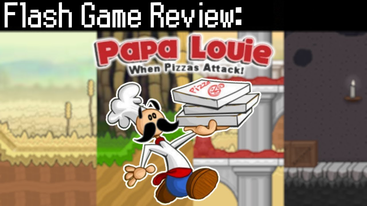 Papa Louie: When Pizzas Attack! – Flash Game Review