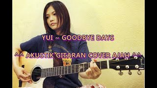 YUI   Goodbye Days Acoustic Cover