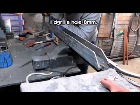 Как сделать гибочный станок. How to make metal bending tool.