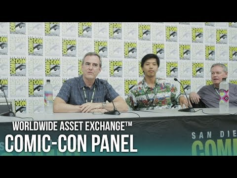 WAX at Comic Con 2018 - Panel with CEO William Quigley