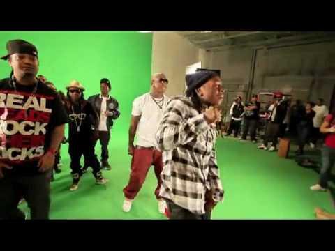 Behind The Scenes Shoot For Lil Wayne, Tyga & Nicki Minag - Roger That
