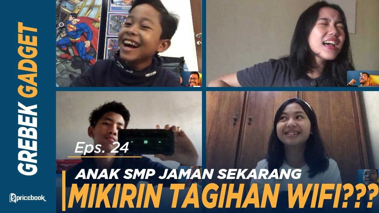 Download Berapa Harga Gadget Lo? Edisi Video Call Anak SMP! #GrebekGadget 24