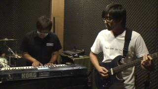 WeiWangHam Band  About to Crash Reprise Cover Rehearsal 10/13/2009