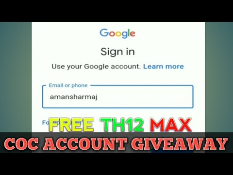 COC FREE ACCOUNT GIVEAWAY 2018 | DEC 2018 | CLASH OF CLANS