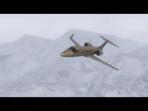 Luxor Deluxe volando con nieve