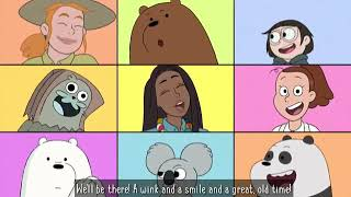 We'll Be There- Extended Version Lyrics [We Bare Bears]