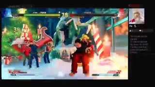 Steet Fighter V Arcade Edition Arcade Mode (PS4) One Credit Game Sample