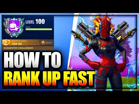 NEW How To RANK/LEVEL up SUPER FAST In Fortnite Battle Royale and Get to tier 100 in season 4 GLITCH