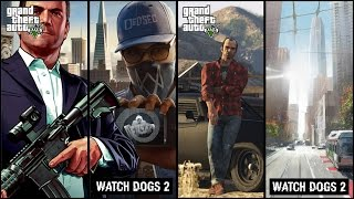 Watch Dogs 2 VS GTA 5