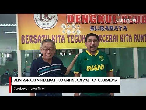 Alim Markus Minta Machfud Arifin Jadi Wali Kota Surabaya
