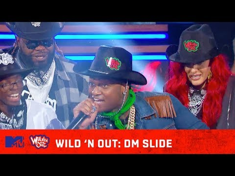 Wild 鈥楴 Out Cast & Matt Triplett Show You How to Slide Into the DMs 馃幎 | Wild 'N Out