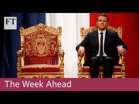 Macron tour, Draghi speech, WPP results | The Week Ahead