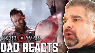 Dad Reacts to the 'Stranger Fight' In 2020 - God of War!