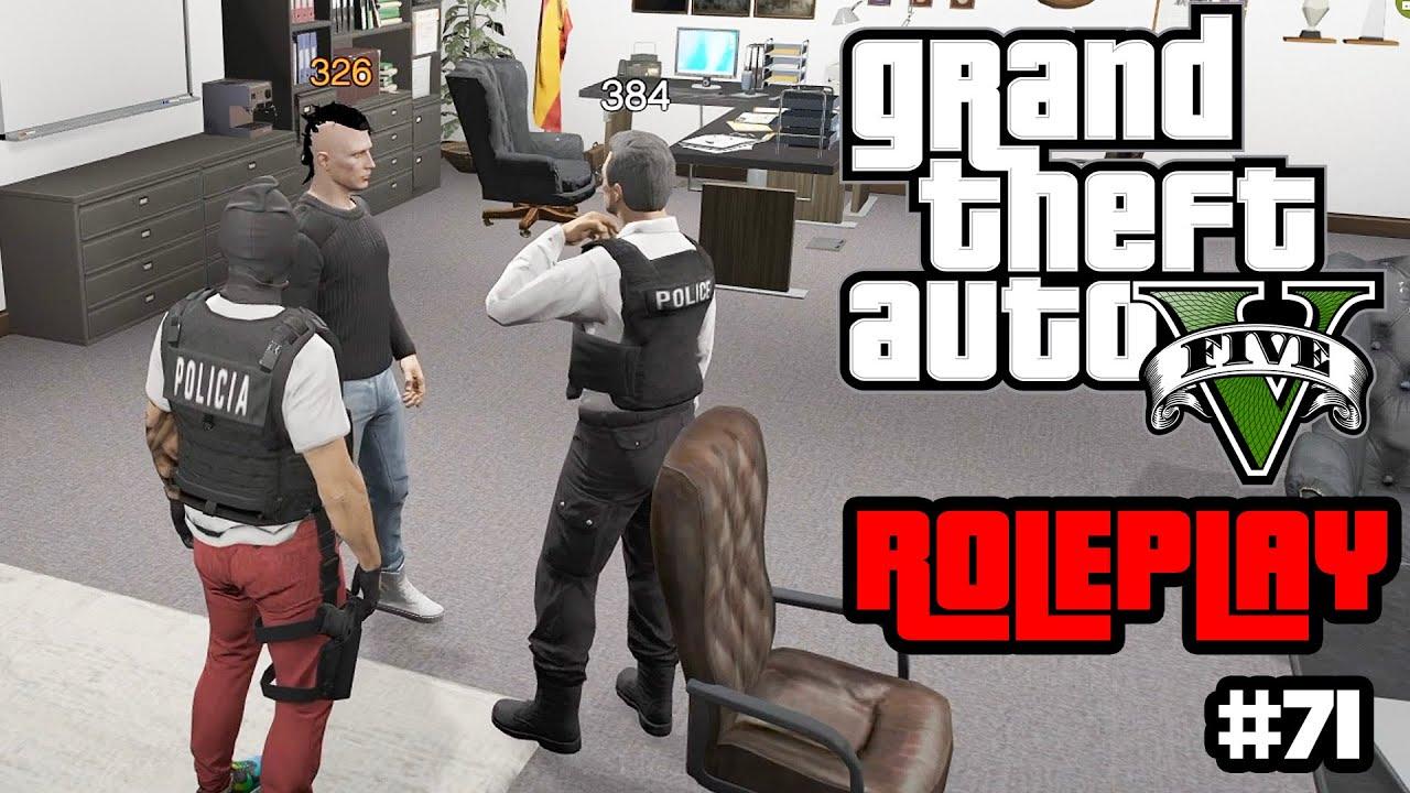 PRUEBAS a POLICIA de RAUL RUBIER | GTA V Roleplay #71