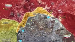07 October, 2016. Syria, Aleppo. Handarat after liberation by the government forces. English subs