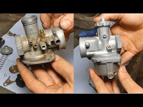 pitbike carburateur ultrasoon