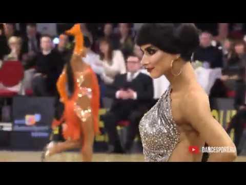 Valentin Kosmachev - Alena Kochengina RUS, Samba / Antwerp Diamond DanceSport Cup 2020