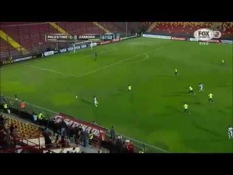 Palestino 4 - 0 Zamora Copa Libertadores 2015