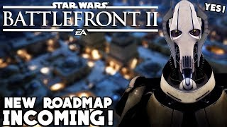 Star Wars Battlefront 2 - NEW Clone Wars Roadmap Coming! General Grievous Tease and More Updates!