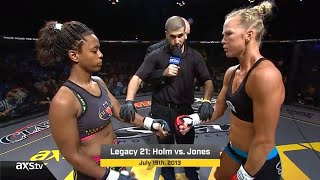 Fight of the Week: Holm vs. Jones ~~~
