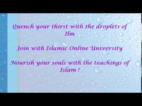 The testimonials of Sri Lankan students for Islamic Online University.