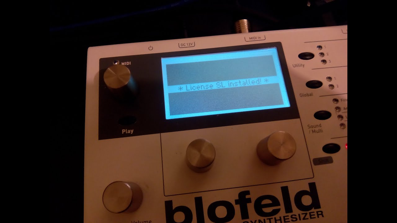 Blofeld license sl download