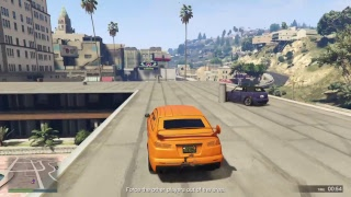 GTA V - Car Sumo and other fun