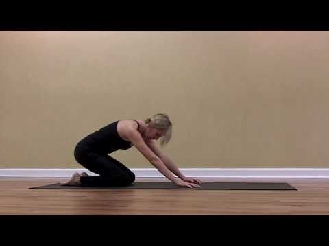 "Amsa Yoga Studio of Columbia, SC: ""Anahatasana"" (Half Dog Pose or Melting Heart Pose)"