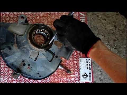 Замена подшипника передней ступицы  Mazda 6 Мазда 6 2007 года