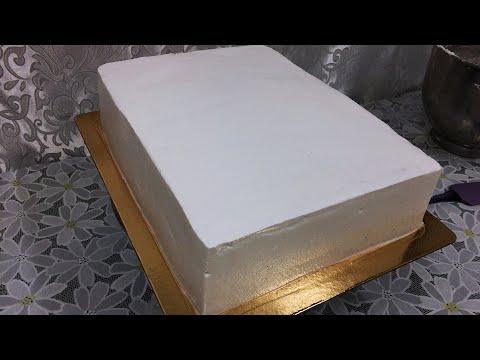 Как украсить торт квадратный в домашних условиях