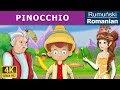 Pinocchio in Romana - povesti pentru copii - basme in limba romana - Romanian Fairy Tales