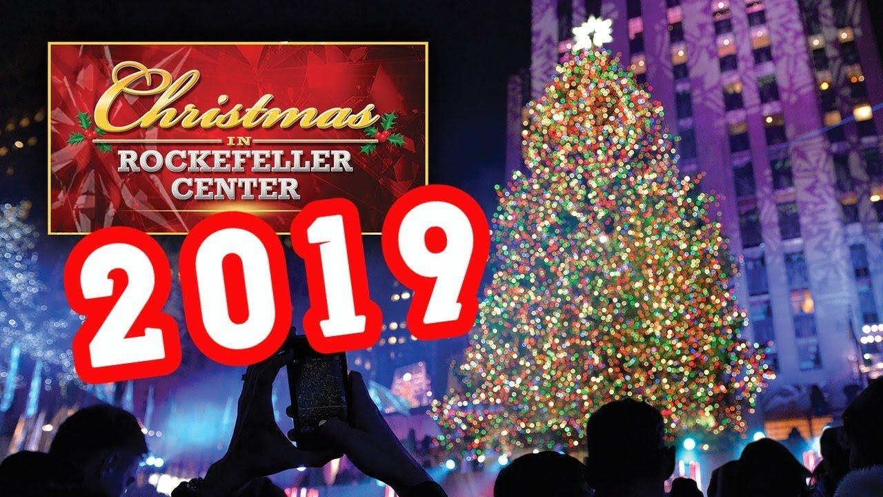 Rockefeller Center CHRISTMAS TREE 2019 NEW YORK CITY - YouTube