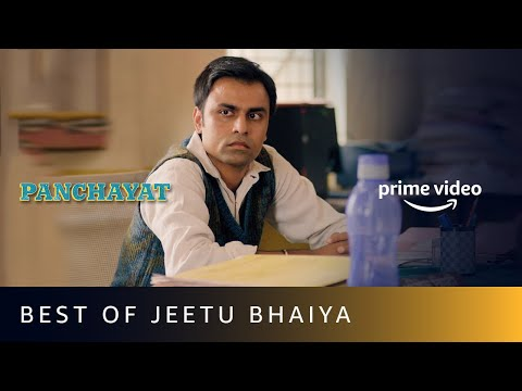 Best Of Jeetu Bhaiya - Panchayat | Amazon Prime Video
