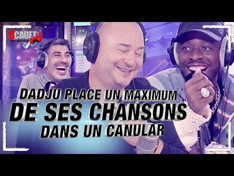 DADJU Place Un Maximum De Ses Chansons Dans Un Canular - C'Cauet Sur NRJ