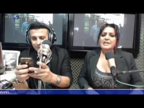 רדיו פרסי רן יוצאי אראן 14.11.14 - Persian radio in israel