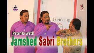 Prank with Jamshed Sabri Brothers | by Aamir Baba | Bach Ke Rehna Re