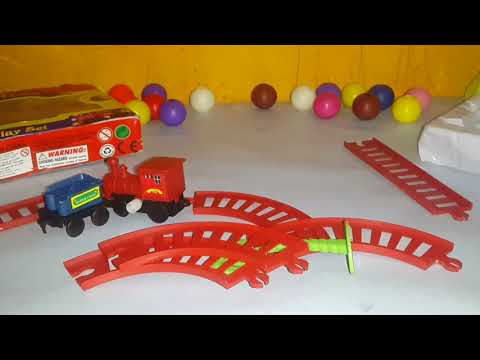 world express mini wind up Toy Train Unboxing and Setup | Mini Train Play Set for Kids