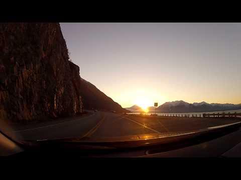 ANCHORAGE TO GIRDWOOD DRIVE - ALASKA - GOPRO CAMERA