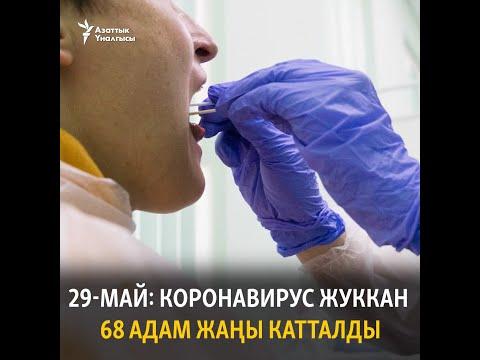 29-май: Кыргызстанда коронавирус жуккан 68 адам жаңы катталды