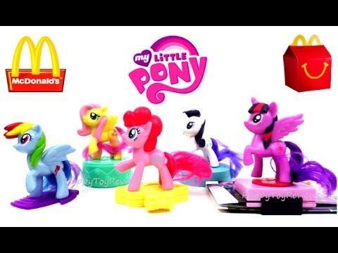 2017 McDONALD'S MY LITTLE PONY THE MOVIE HAPPY MEAL TOYS