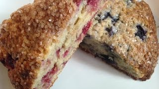 The Best Berry Scones!