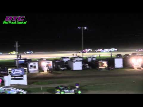 IMCA Stock Car A Feature Wakeeney Speedway 5 25 15