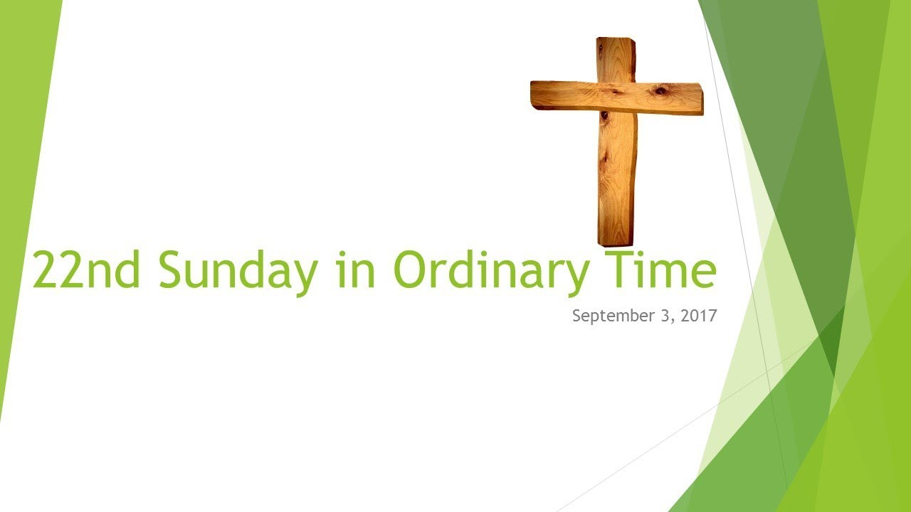 22nd sunday in ordinary time a for kids youtube 22nd sunday in ordinary time a for kids biocorpaavc