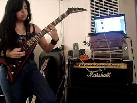 Megadeth-This Was My Life(Cover by Dragon Mistress)